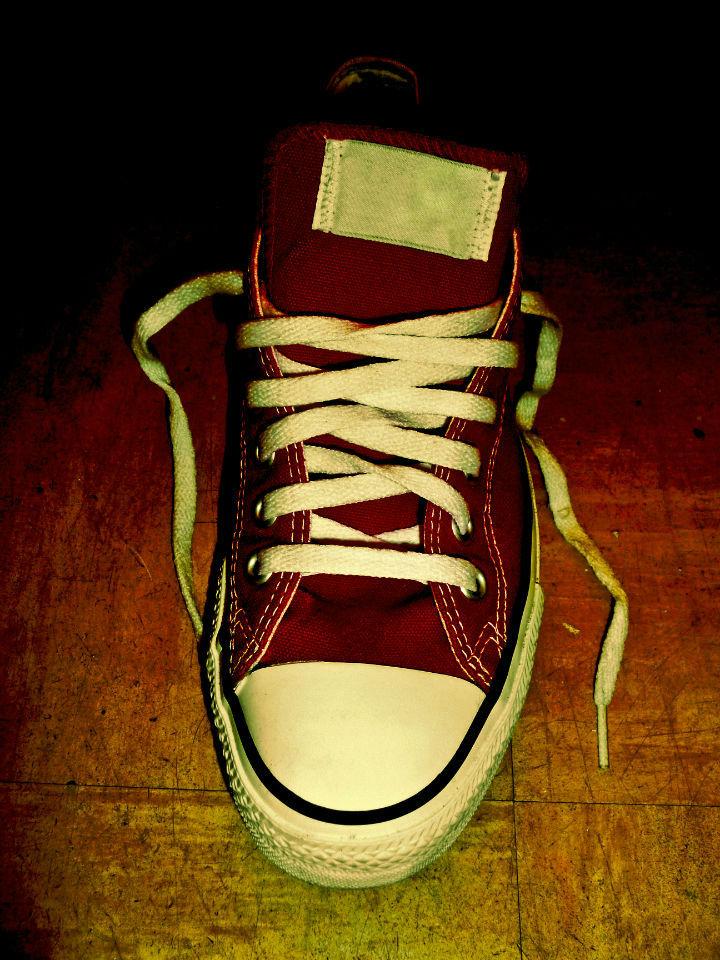 Que pensez-vous de mes Converse rouges ?