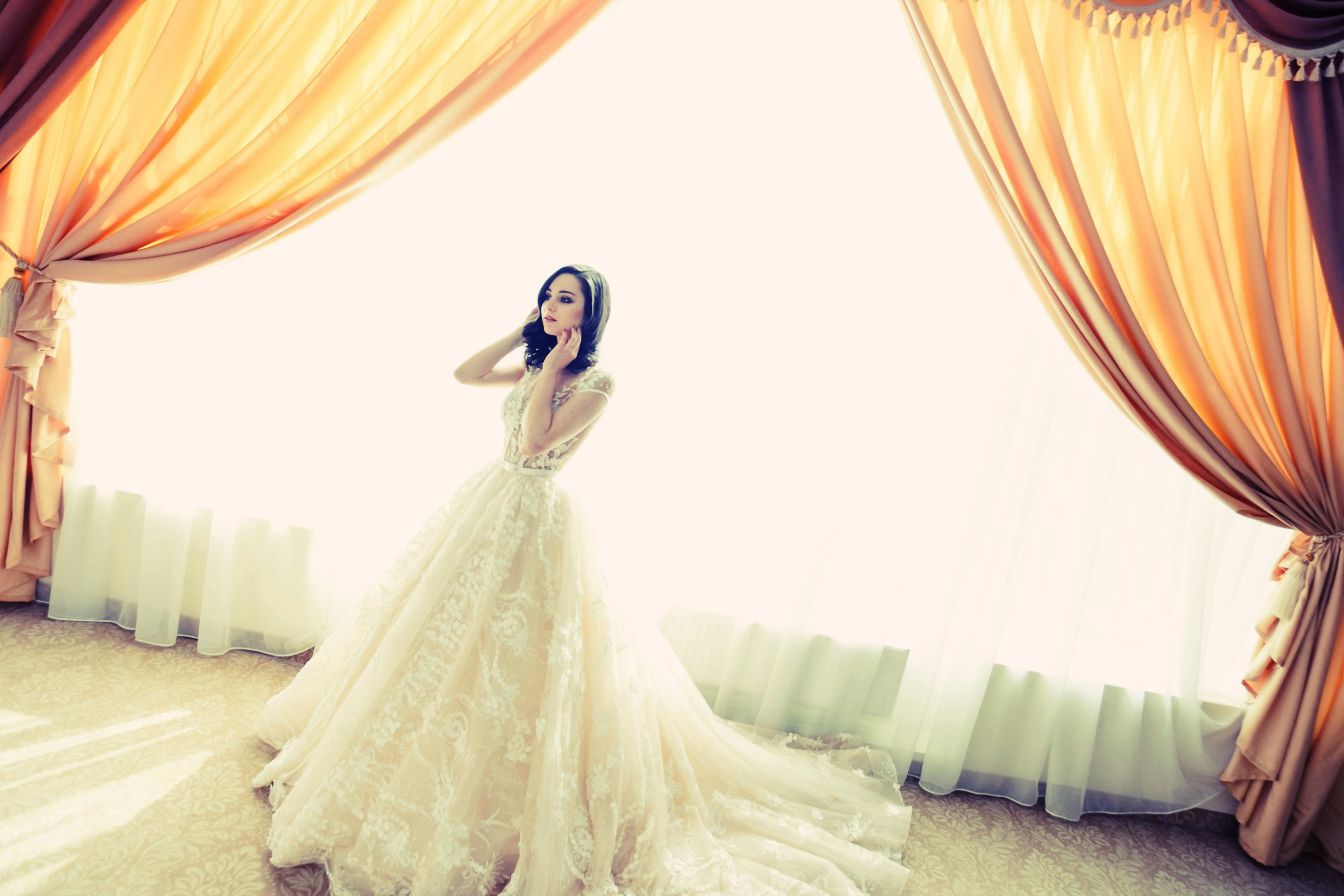 robe princesse mariage civil